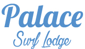 Palace Surf Lodge Newquay, Cornwall Logo